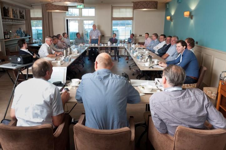 Ondernemers presenteren hun bedrijf