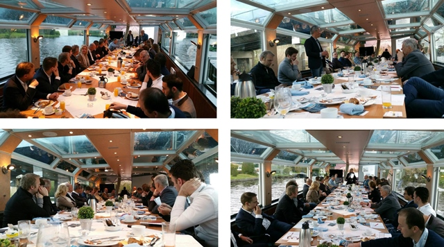 BusinessClub-leden allemaal in de boot