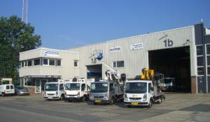 Hoogwerker Centrum Nederland